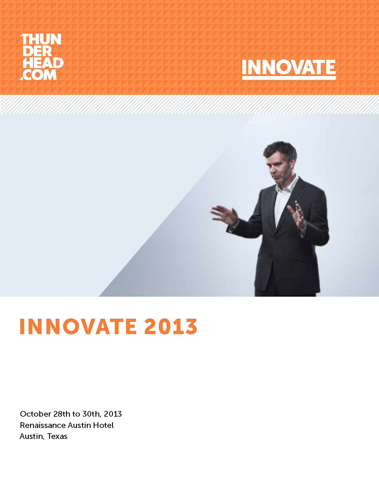 Thunderhead.com Innovate Conference Guide Cover