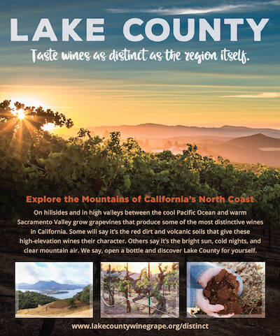 Lake County full-page ad