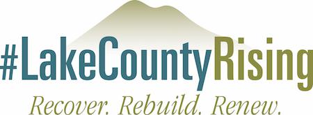 #LakeCountyRising logo